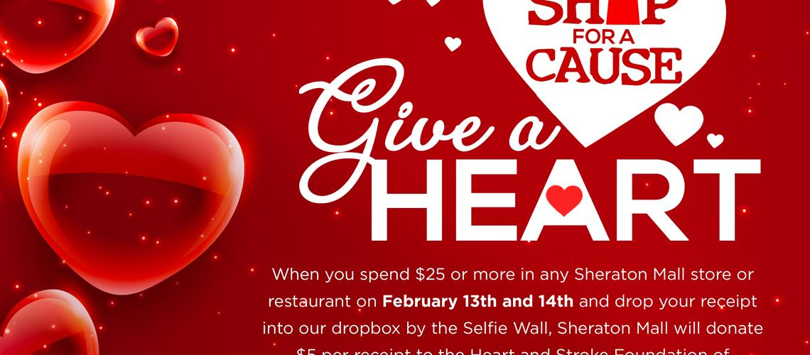 Shop For A Cause - Give A Heart
